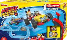 Carrera FIRST - Mickey and the Roadster, 1:50, ca. 114x80 cm, 1-2 Spieler