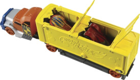 Mattel GCK39 Hot Wheels Super Stunt-Transporter