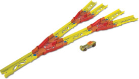 Mattel GLC94 Hot Wheels Track Builder Unlimited Builder Split Track Pack