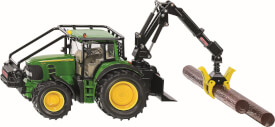 SIKU 4063 FARMER - John Deere Forsttraktor, 1:32, ab 3 Jahre