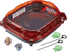 Hasbro E3629EU4 Beyblade Burst SlingShock Rail Rush Battle Set