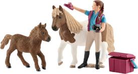 Schleich Horse Club - 42362 Pferdepflegerin mit Shettys, ab 3 Jahre