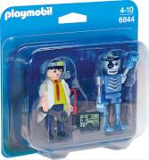 Playmobil 6844 Duo Pack Professor und Roboter