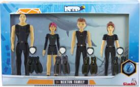 Simba Die Nektons Familienpack