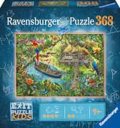 Ravensburger 12924 AT EXIT KIDS Dschungelsaf.368p