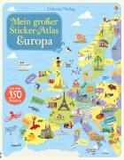 Mein großer Sticker-Atlas: Europa