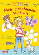 Conni Gelbe Reihe: Mein Schablonen-Malbuch, Taschenbuch, ab 4 Jahre