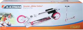 XXtreme Scooter White Tattoo, 125 mm