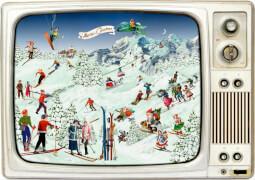 Advents-Retro-TV, Wand-Adventskalender