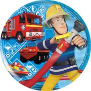 p:os 25335 Feuerwehrmann Sam, Frühstücksset 3tlg, Melamin, im Sleeve